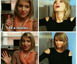lesbian, meme, and Taylor Swift image
