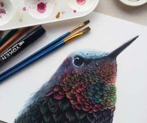 animal, art, and colorful image