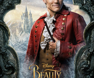 beauty and the beast, disney, and gaston image