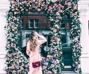 fashion, flowers, and spring image