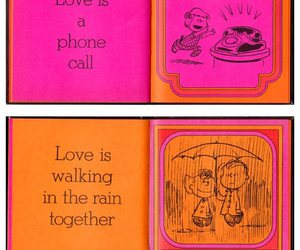 love is, peanuts, and quote image