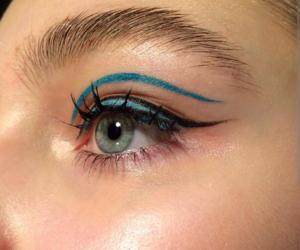 makeup, eye, and tumblr image