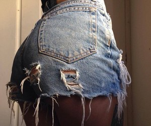 booty, jeans, and shorts image