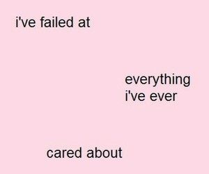 pink, quotes, and sad image