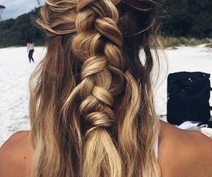 adventure, beauty, and hair image