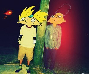 hey arnold and arnold image