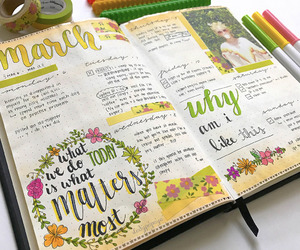 art, daily, and journal image