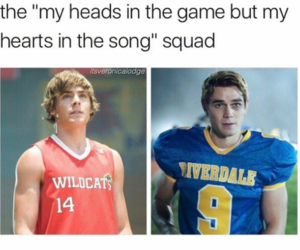 riverdale, troy bolton, and high school musical image