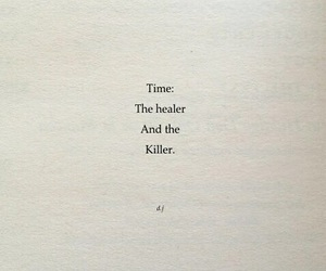 quotes, time, and words image