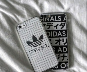 adidas, iphone, and grunge image