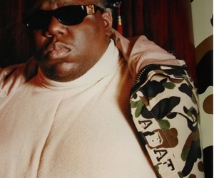 ape, biggie smalls, and hip hop image