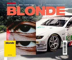 theme, frank ocean, and blonde image