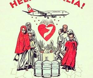 help, humanity, and somalia image