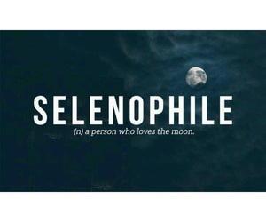 moon, selenophile, and moonlover image