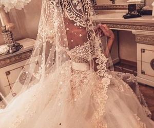wedding, white, and bride image
