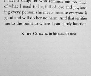 kurt cobain, suicide, and nirvana image