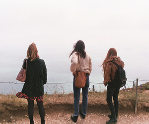 girl, photography, and friends image