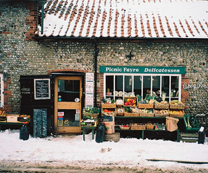 vintage, winter, and snow image
