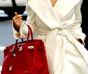 fashion, hermes, and red image