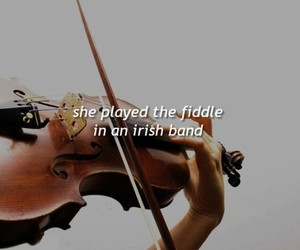 galway girl, fiddle, and irish image