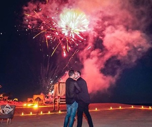love, fireworks, and colton haynes image