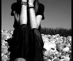 alone, emo, and sad image