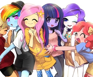 my little pony, pinkie pie, and rarity image