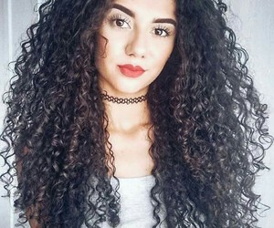 curly hair, cachos, and cacheado image