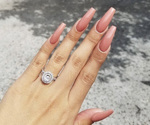 coffin, jewelry, and long nails image
