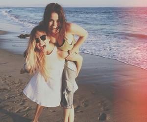 friends, beach, and best friends image