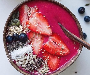bowl, breakfast, and fitness image