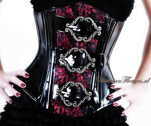 corset and goth image