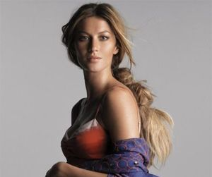 fashion, Gisele Bundchen, and model image