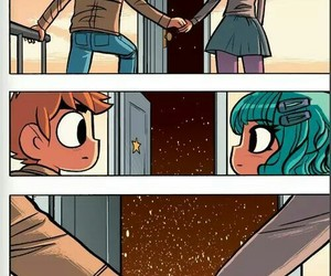 scott pilgrim, ramona, and cute image