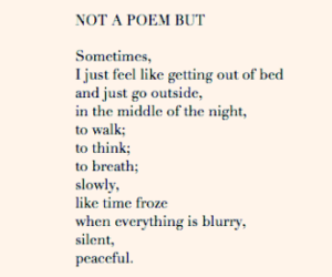 book, night, and poetry image