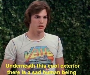 sad, that 70s show, and quotes image