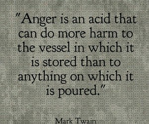 quotes, anger, and mark twain image