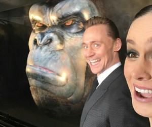 king kong, brie larson, and tom hiddleston image