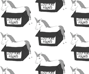 black and white, lost and found, and sparkles image