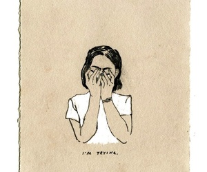 art, grunge, and sad image