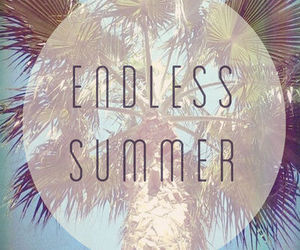 summer, endless, and beach image