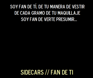 amor, fan, and letras image
