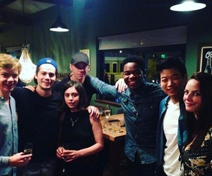 KAYA SCODELARIO, will poulter, and ki hong lee image