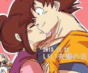 anime, chi-chi, and gokuxchichi image