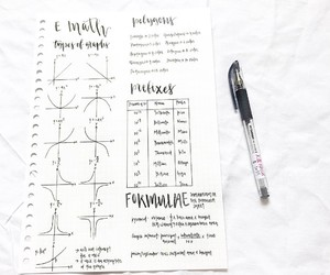 math, school, and cuadernos image