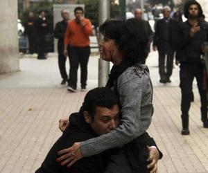hug, husband, and sad story image