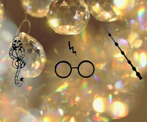 harry potter, hp, and yellow image