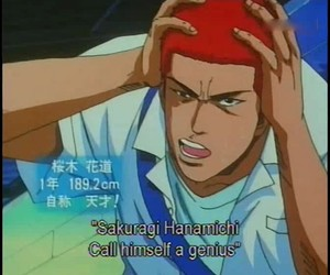 slam dunk and hanamichi sakuragi image