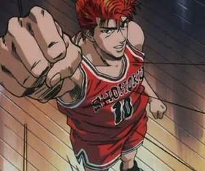slam dunk, shohoku, and hanamichi sakuragi image