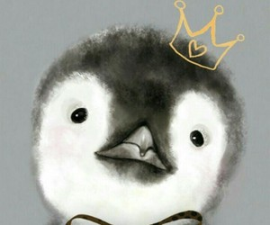 little, pinguin, and princess image